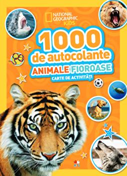 Coperta Carte 1000 de autocolante. Animale fioroase PDF