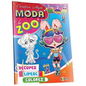 Moda la Zoo. Creative style. Decupez, lipesc, colorez/***
