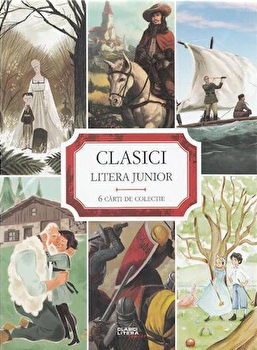 Set clasici litera junior (6 carti)/*** imagine elefant.ro 2021-2022