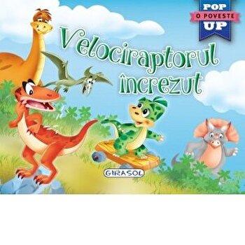 Pop-up:Velociraptorul increzut/***