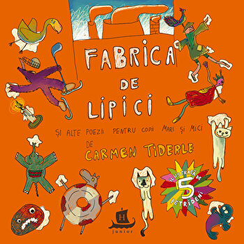 Fabrica de lipici/Carmen Tinderle, Vali Petridean