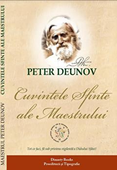 Cuvintele sfinte ale Maestrului/Peter Deunov poza cate