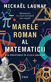 Marele roman al matematicii. Din preistorie in zilele noastre/Mickael Launay imagine elefant.ro