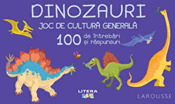 Dinozauri. Joc de cultura generala. 100 de intrebari si raspunsuri/***