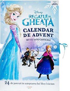 Regatul de gheata. Calendar de Advent. Set cu 24 de carticele. 24 de povesti in asteptarea lui Mos Craciun/***