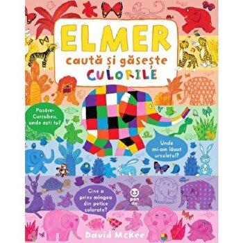 Elmer cauta si gaseste culorile/David Mckee imagine