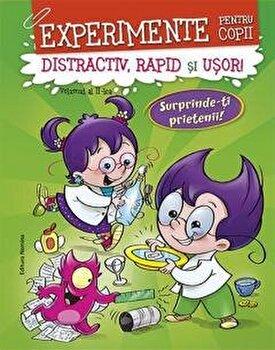 Experimente pentru copii - distractiv, rapid si usor, vol. 2 - verde-*** imagine