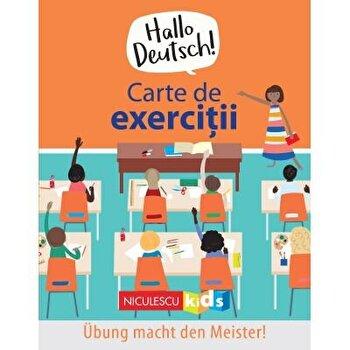Hello Deutsch! Carte de exercitii/Sam Hutchinson, Emilie Martin