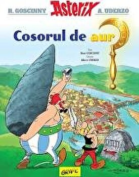 Asterix si cosorul de aur/Rene Goscinny, Albert Uderzo imagine