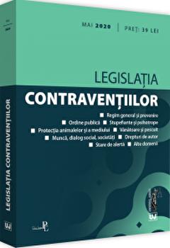 Legislatia contraventiilor - mai 2020/Universul Juridic poza cate