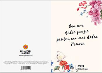 Felicitare - Poezii/Lucian Blaga imagine elefant.ro