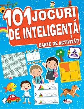 101 jocuri de inteligenta. Carte de activitati/***