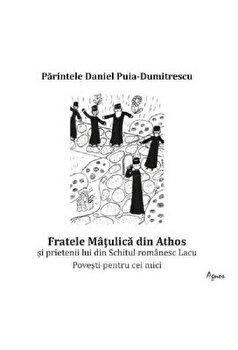 Fratele Matulica din Athos si prietenii lui din Schitul romanesc Lacu. Povesti pentru cei mici/Daniel Puia-Dumitrescu