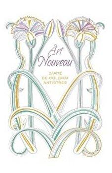 Art Nouveau - Carte de colorat antistres/*** imagine elefant.ro