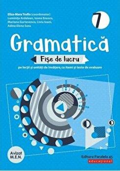 Gramatica. Fise de lucru. Clasa VII. 2020-2021/***