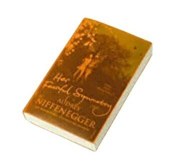 Cover Up Book Cover - Orange transparent/*** imagine elefant.ro