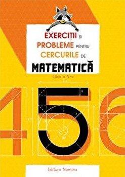 Exercitii si probleme pentru cercurile de matematica - Clasa a-V-a/Petre Nachila