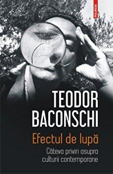 Efectul de lupa. Cateva priviri asupra culturii contemporane/Teodor Baconschi poza cate