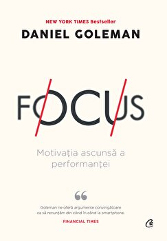 Focus , Ed a II-a/Daniel Goleman imagine elefant.ro 2021-2022