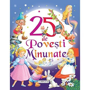 Imagine 25 De Povesti Minunate - Reeditare - susaeta