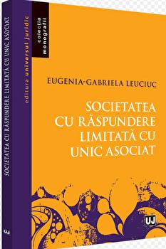 Societatea cu raspundere limitata cu unic asociat/Eugenia Gabriela Leuciuc imagine elefant.ro