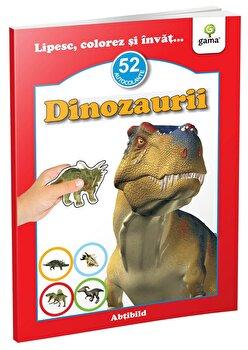 Dinozaurii. Lipesc, colorez si invat… 52 autocolante/***