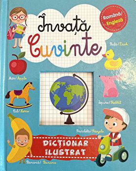 Invata cuvinte. Dictionar ilustrat. Romana/Engleza/Brijbasi