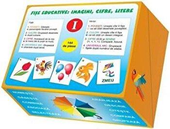 Fise educative: imagini, cifre, litere (I)/Ala Bujor