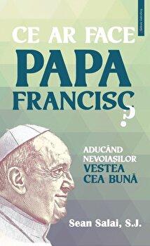 Ce ar face Papa Francisc? Aducand nevoiasilor Vestea cea Buna/Sean Salai, S.J imagine elefant.ro 2021-2022