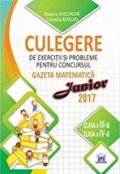 Culegere Gazeta Matematica Junior clasa a III-a si clasa a-IV-a/***