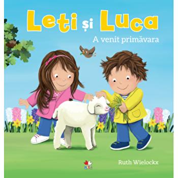 Leti si Luca. A venit primavara/Ruth Wielockx
