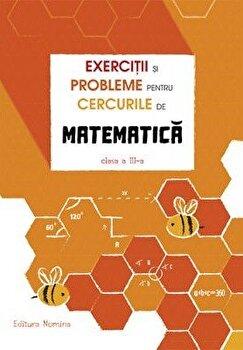 Exercitii si probleme pentru cercurile de mate cls a 3-a. Ed. 2/Petre Nachila poza cate