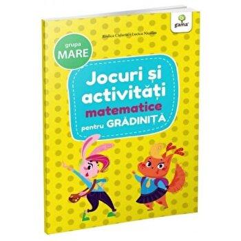 Jocuri si activitati matematice pentru gradinita - grupa. mare/***