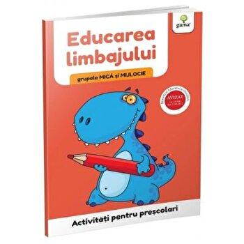 Educarea limbajului - grupele mica si mijlocie/***