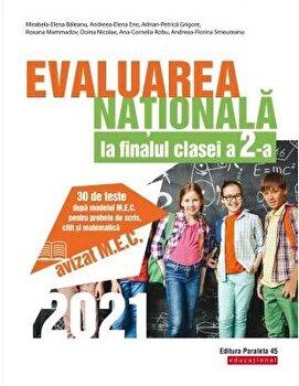 Evaluare nationala 2021. Cls. II. Scris. Citit. Matematica/Mirabela-Elena Baleanu imagine