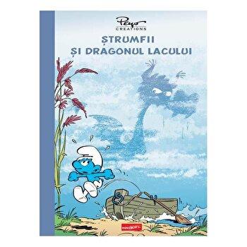 Strumfii si dragonul lacului/Alain Jost, Thierry Culliford, Jeroen De Coninck, Miguel Diaz