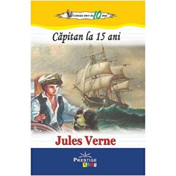 Capitan la 15 ani/Jules Verne