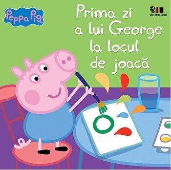 Peppa Pig: Prima zi a lui George la locul de joac/Nelville Astley, Mark Baker