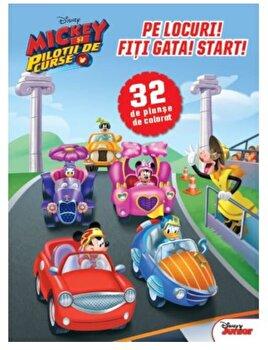 Disney. Mickey si pilotii de curse. Pe locuri! Fiti gata! Start!/***
