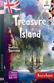 Treasure Island. Read in English. Dificultate 2/Ali Krasner, Catherine Mory, Robert Louis Stevenson