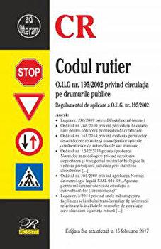 Codul rutier - Editia a 3-a (2017-02-15)/*** imagine elefant.ro 2021-2022