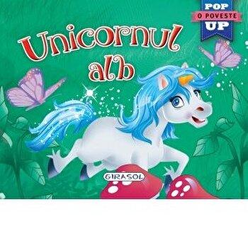 Pop-up -Unicornul alb/***