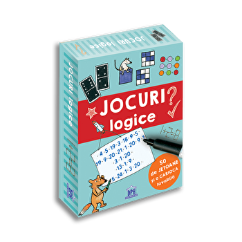 Jocuri logice - 50 de jetoane/Philip Kiefer