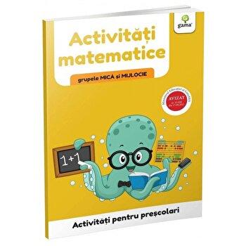 Activitati matematice - gupele mica si mijlocie/***