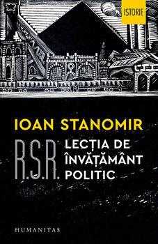 RSR: Lectia de invatamant politic/Ioan Stanomir imagine elefant.ro 2021-2022