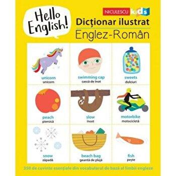Hello English! Dictionar ilustrat englez-roman/Sam Hutchinson