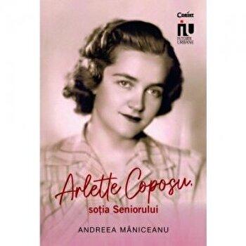 Arlette Coposu, sotia seniorului/Andreea Maniceanu imagine