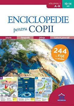 Enciclopedie pentru copii - De la A la K - Volumul 1/PlayBac