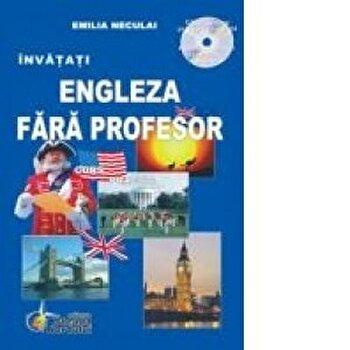 Engleza fara profesor/Emilia Neculai imagine elefant.ro 2021-2022