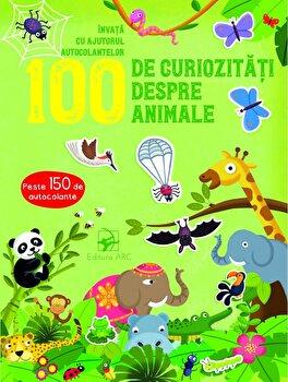 Imagine 100 De Curiozitati Despre Animale - Invata Cu Ajutorul Autocolantelor - ***